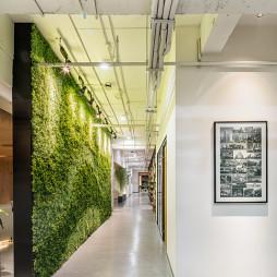 工装公司办公空间走廊设计