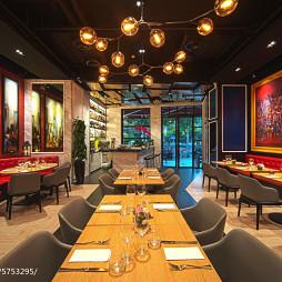 上海DV西餐厅装修设计
