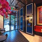 上海DV西餐厅入口设计