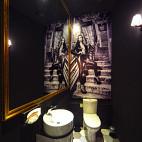 上海DV西餐厅洗手间设计