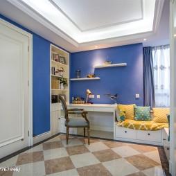 托斯卡纳欧式儿童房组合柜设计