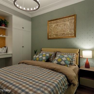 摩登时代现代卧室设计效果图