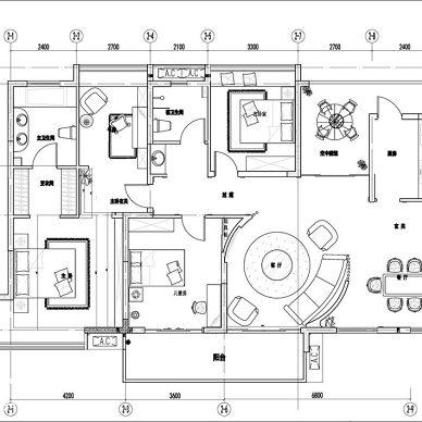 重庆中亿地产 样板间内装项目_2165230