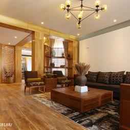 现代别墅客厅装修设计