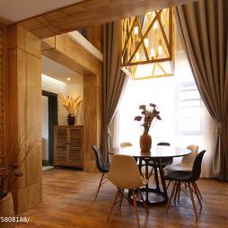 现代别墅落地窗装修设计