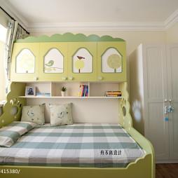 美式儿童房组合床装修效果图