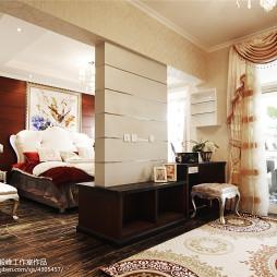 新古典婚房卧室装修图欣赏