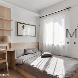 人文自然·现代卧室榻榻米床装修效果图