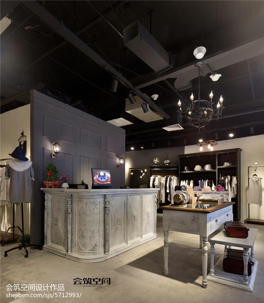 服装店收银台图片_商场服装店收银台设计 – 设计本装修效果图