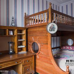 混搭风格儿童房上下床装修效果图