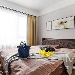 中式婚房卧室装修图库欣赏