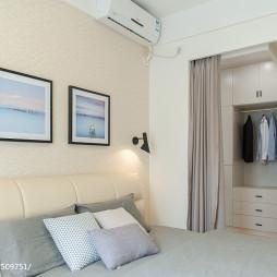 现代简约卧室衣橱设计