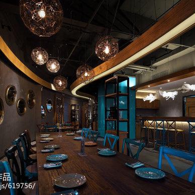 苏州THAI CUISINE西餐厅装修效果图