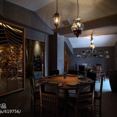 苏州THAI CUISINE西餐厅隔断设计