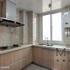 现代简约风格厨房窗户效果图