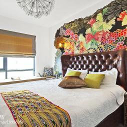 现代卧室背景墙效果图大全