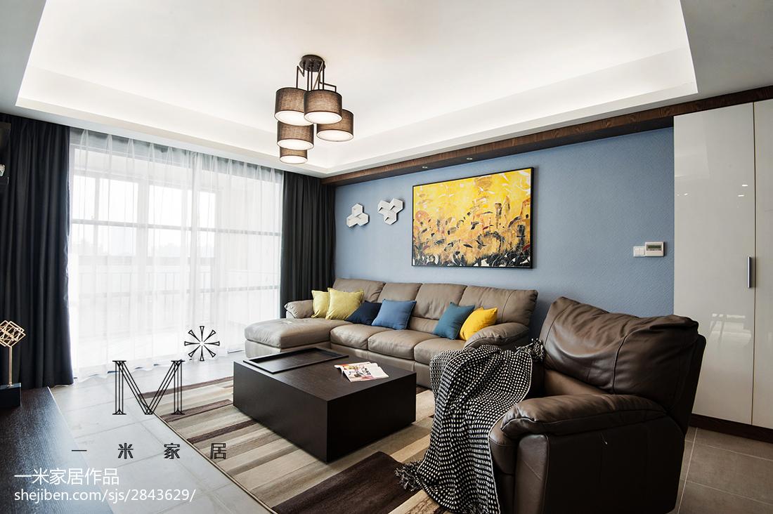 现代客厅吊顶图片