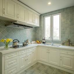 美式厨房窗户图片