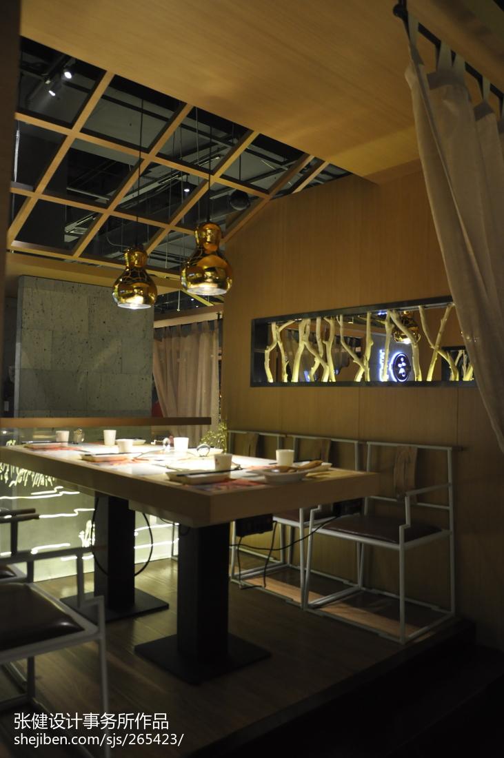 餐厅吊灯模型_火锅餐厅吊灯装修效果图 – 设计本装修效果图