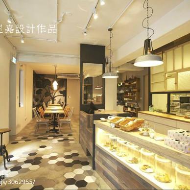 法式甜点店装修设计