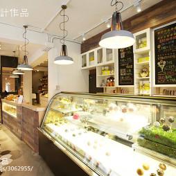 法式甜点店柜台设计