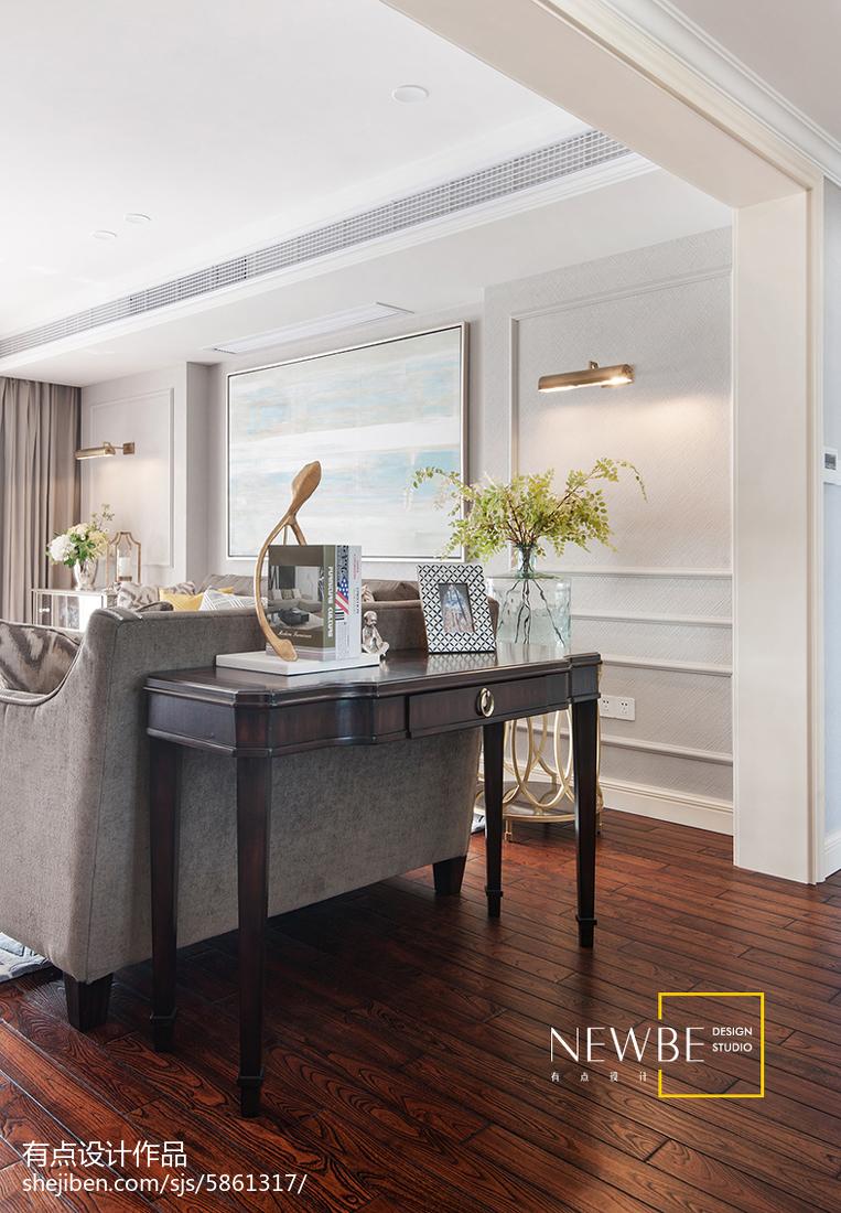 客厅垭口图片_美式客厅垭口装修设计 – 设计本装修效果图