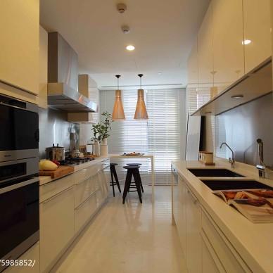 现代公寓厨房样板房设计