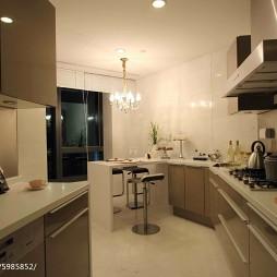 现代卧室公寓样板房厨房装修图片