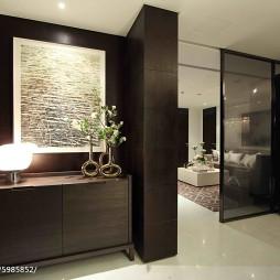 现代公寓玄关样板房设计
