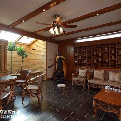 私人别墅东南亚地下室装修图片