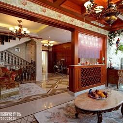 法式客厅隔断设计