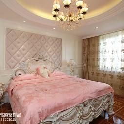 法式卧室窗帘效果图