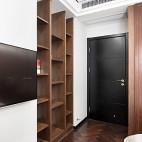 中式卧室博古架图片