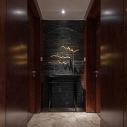 中式四居室过道装修设计