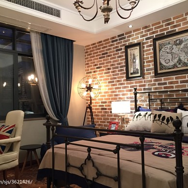 星河湾混搭家装卧室设计