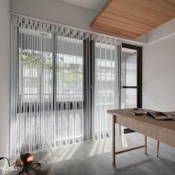 简约现代三居室书房装修图片