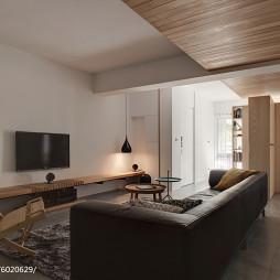 简约现代三居室客厅装修图片