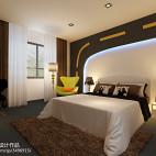 主题酒店客房背景墙设计