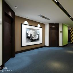 主题酒店走廊背景墙图片
