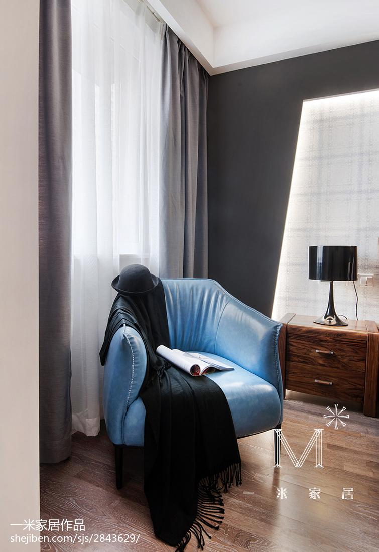 现代简约窗台窗帘图片