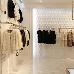 时装品牌店展示架设计
