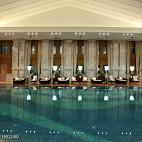 美式会所一楼恒温泳池效果图大全