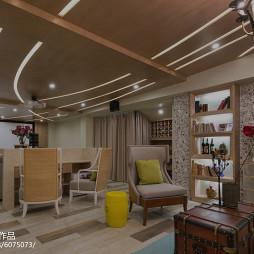 东南亚风格视听室别墅装修图片