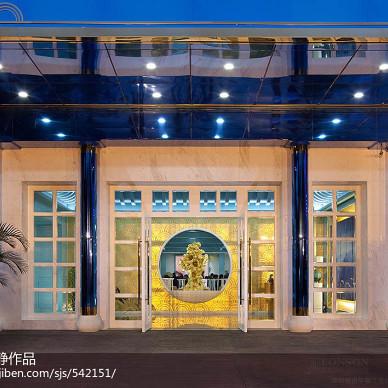 深圳越明年餐厅设计|美丽的江南画卷_2200807