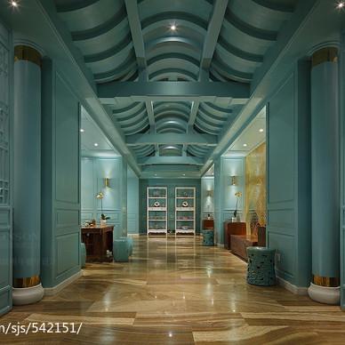深圳越明年餐厅设计|美丽的江南画卷_2200809