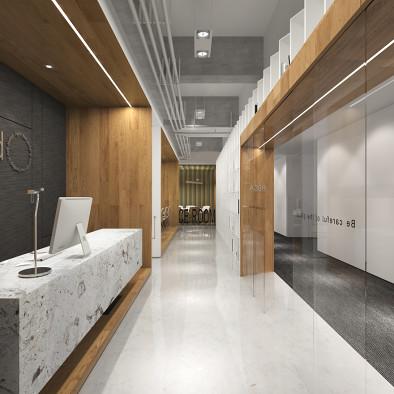 龙湖地产- 上海办公样板设计_2201585