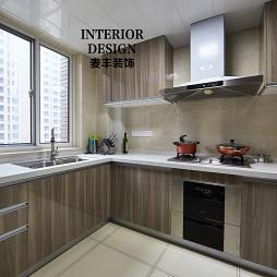 现代简约厨房吊顶效果图