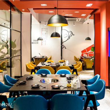 混搭餐饮空间餐厅装修设计