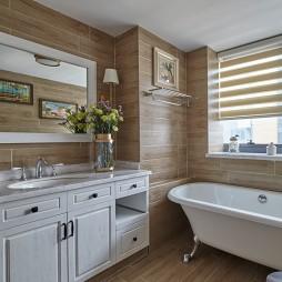 美式风格四居卫生间设计