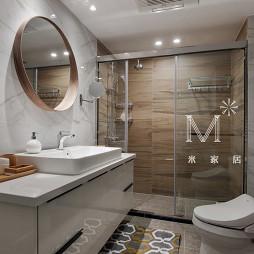 现代北欧卫生间淋浴房设计